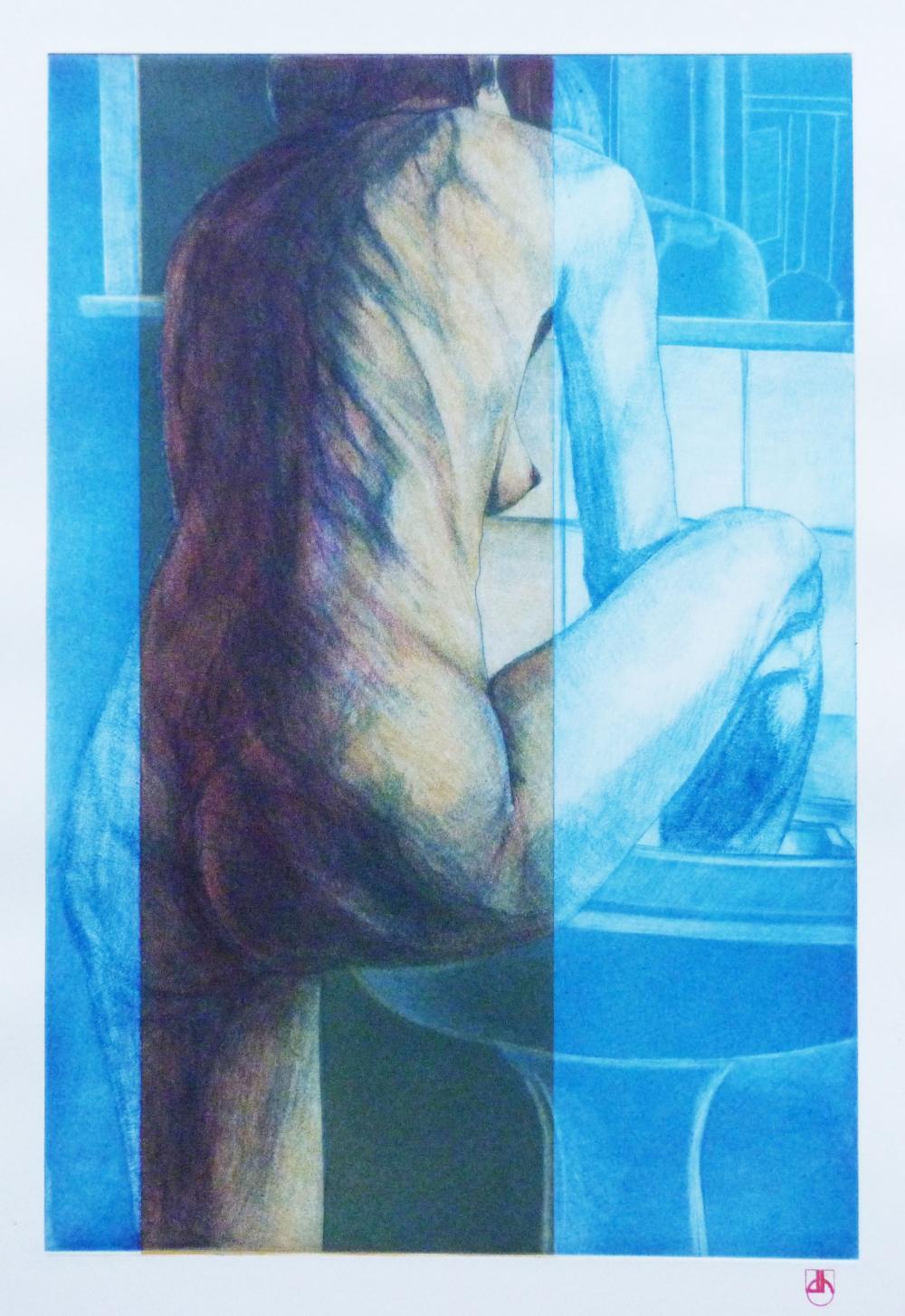 L'évier Bleu
