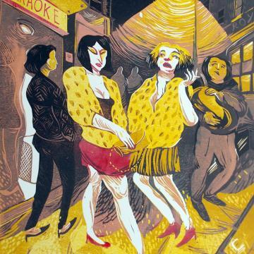 Ladies in Leopard Print
